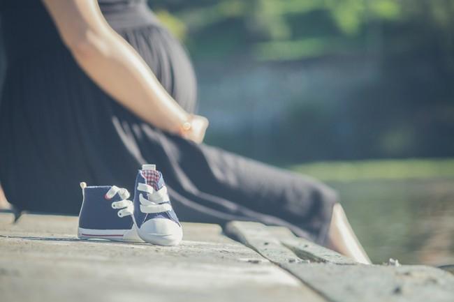 фото беременной девушки