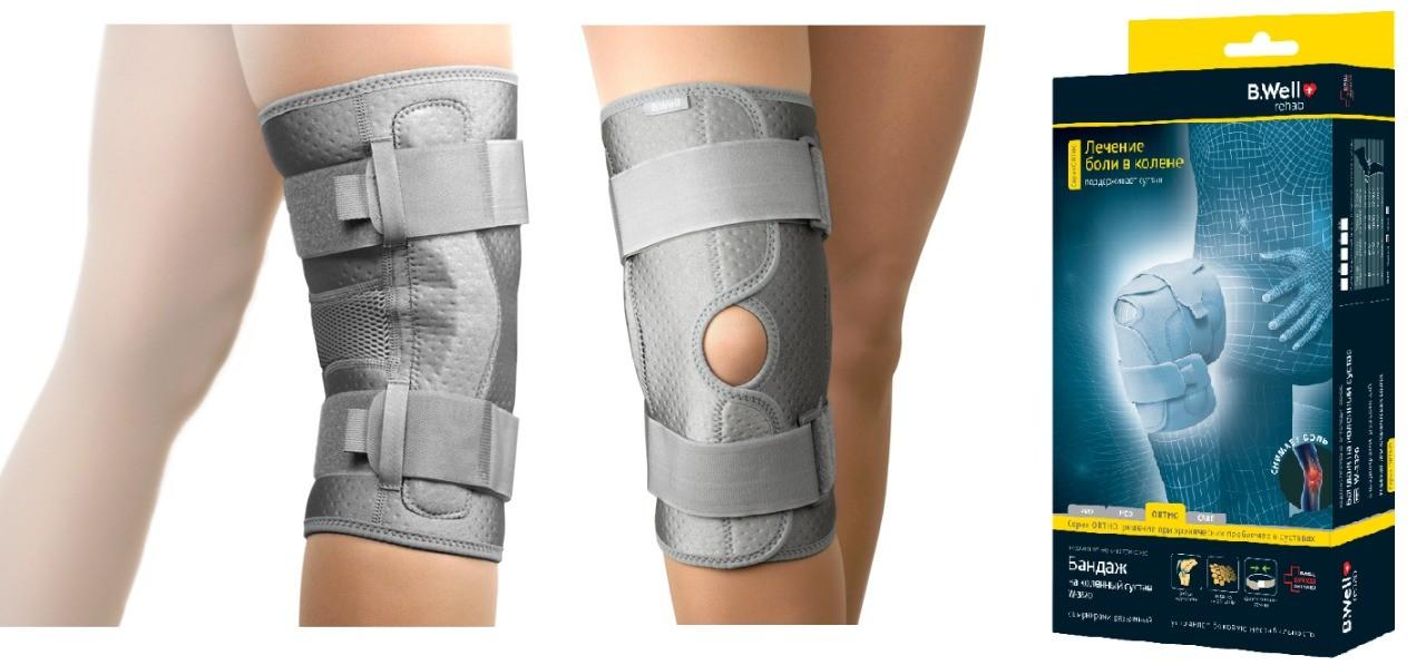 Шарнирный коленный бандаж W-3320, фото
