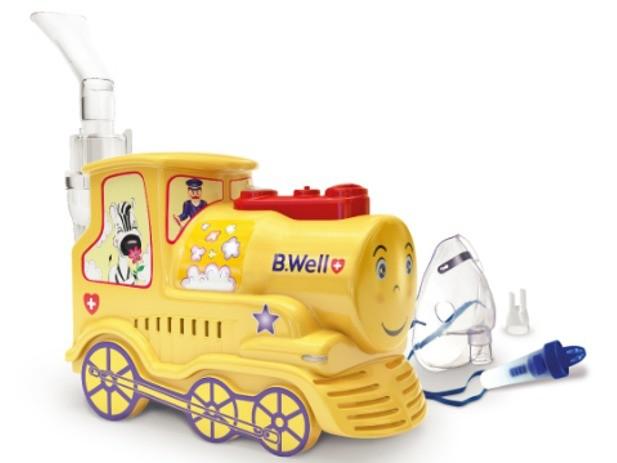 небулайзер PRO-115 в виде игрушки-паровозика фото