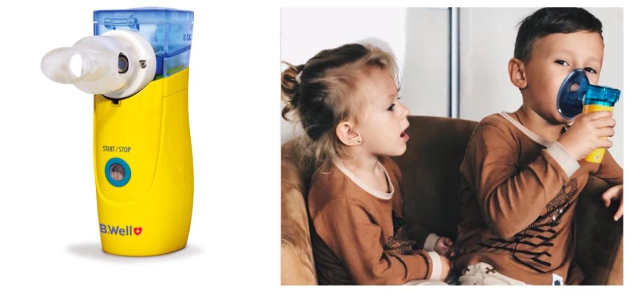 Небулайзер с mash-технологией B.Well WN-144 child фото