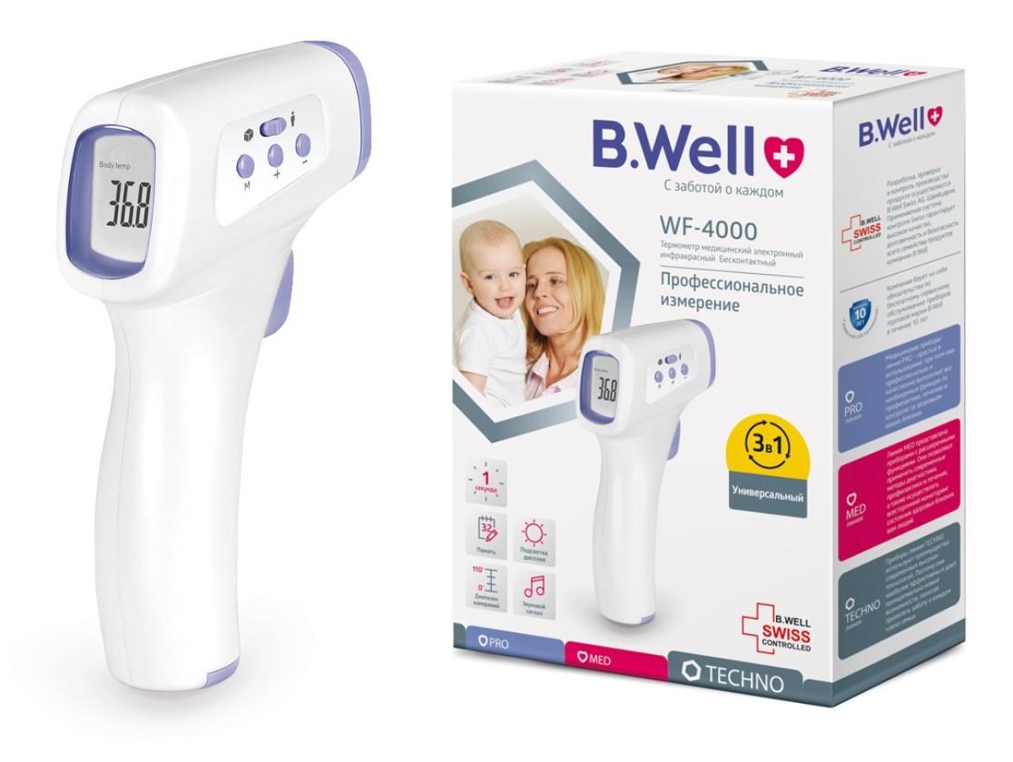 Термометр инфракрасный B.Well WF-4000 фото