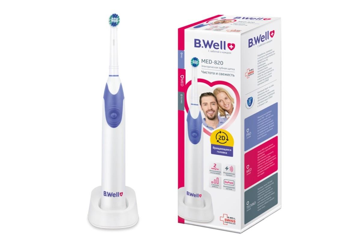 Электрическая зубная щетка MED-820 фото