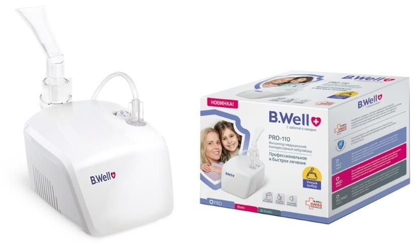 компрессорный прибор швейцарского бренда B.Well PRO-110 фото
