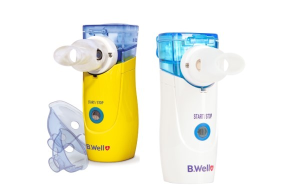 B.Well в своей линейке имеет детскую и взрослую версии меш ингалятора: WN-114 adult и WN-114 child фото